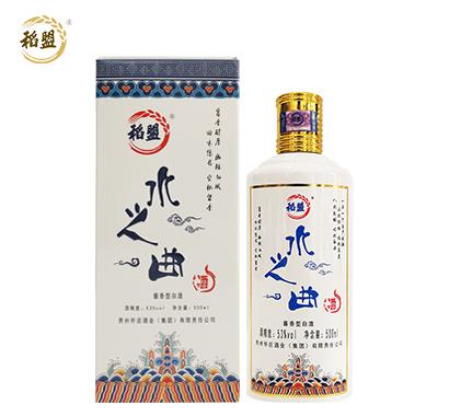 贵州水之曲酱香型白酒